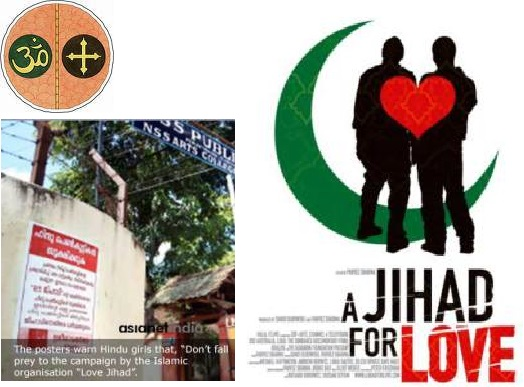 Love Jihad against Hindu-Christian in Kerala