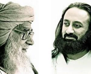 Sri Sri Ravi Shankar & Maulana Ji
