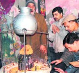 Sitaleshwar Bhairav Mandir at Srinagar kashmir