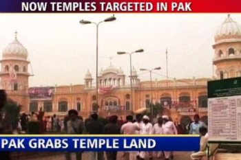 Hindu Temples are under attack in Pakistan by fundamental Muslims. Hundreds of temples have been destroyed in Pakistan in last five years very silently.