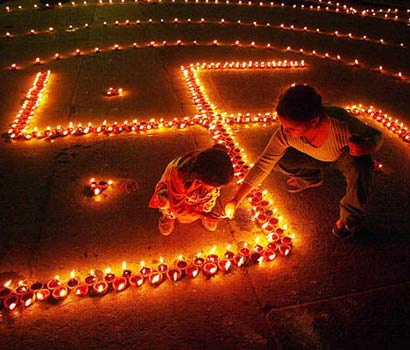 Struggle for Hindu ExistenceDeepavali preparation set world-wide
