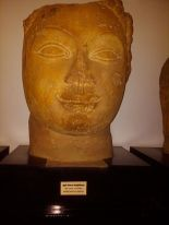 Nobody will be able to see this priceless Buddhist sculpture with others in Maldives museum.