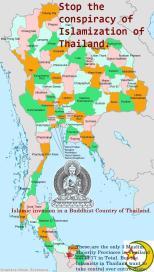 Islamic invasion in a Buddhist State