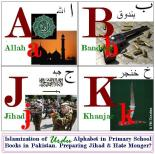 Islamizxation of Urdu  Alphabet in Pakistan