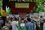 Fiery demonstrations by Hindus at Jantar Mantar against ban on HJS & other Hindu Websites.