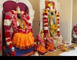 A majority of Indian Americans identify as Hindus, concluded a Pew report released last week. Seen above are idols at a San Francisco Bay area-based Hindu temple.