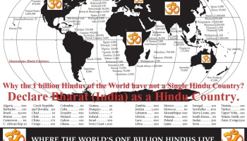 Hindu Roots Are The Second Largest Faith In US Struggle For - Second religion in the world