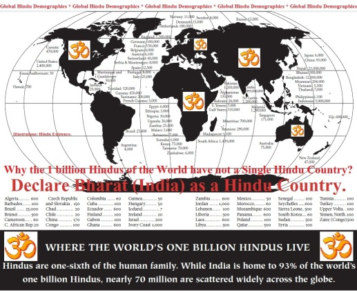 Hinduism in the World.