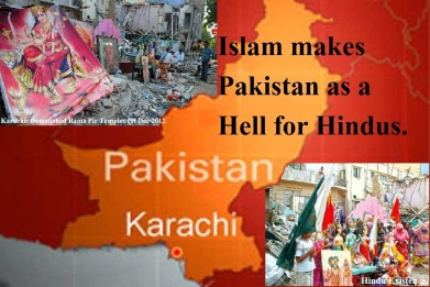 pakistan a hell for Hindus