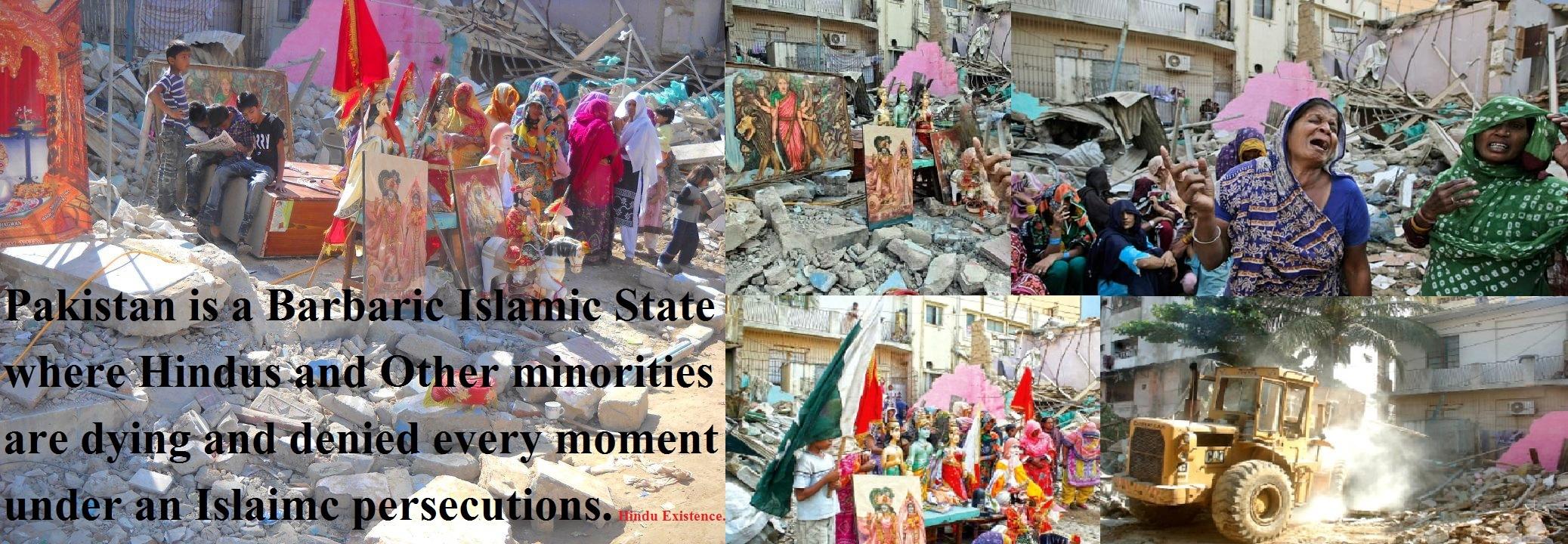 पाकिस्तान के दक्षिणी सिंध प्रांत में कुछ लोगों ने एक छोटे से हिन्दू मंदिर में आग लगा दी जिसके बाद समुदाय के लोगों प्रदर्शन किया. पाकिस्तान हिन्दू परिषद के नेता रमेश वंखवानी ने बताया कि गुरूवार देर रात को टांडो मोहम्मद खान जिले में स्थित मंदिर की एक मूर्ति और कई धार्मिक पुस्तकें जलाकर नष्ट कर दी गयी. वंखवानी ने बताया कि हम नहीं जानते हैं कि इस घटना के पीछे किसका हाथ है।