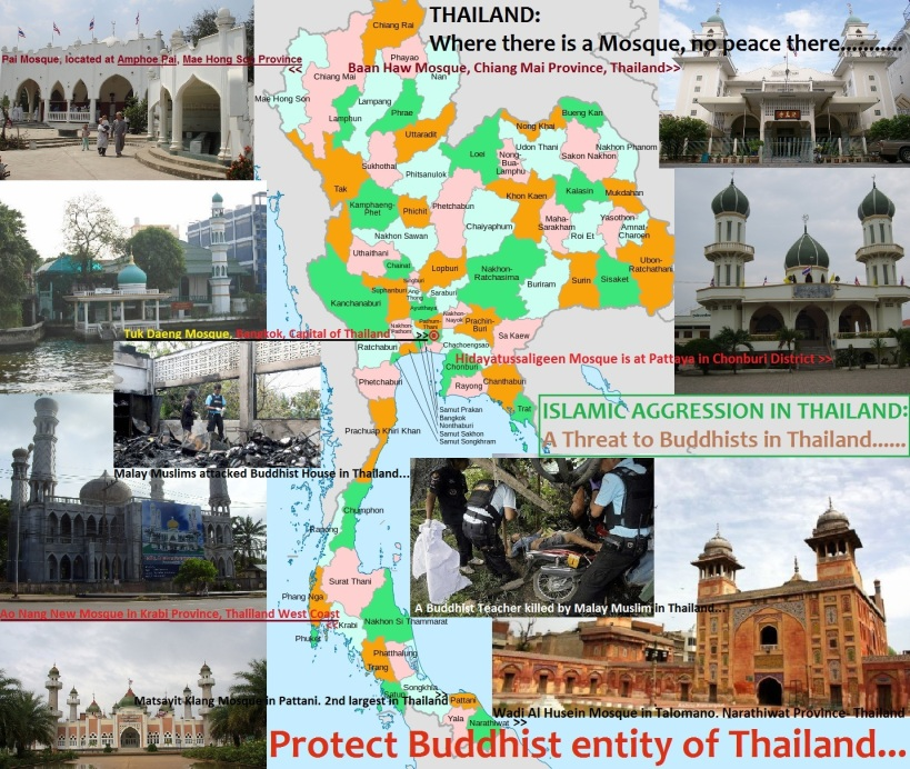 Protect Buddhist entity of Thailand