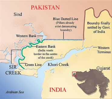 Sir Creek Area
