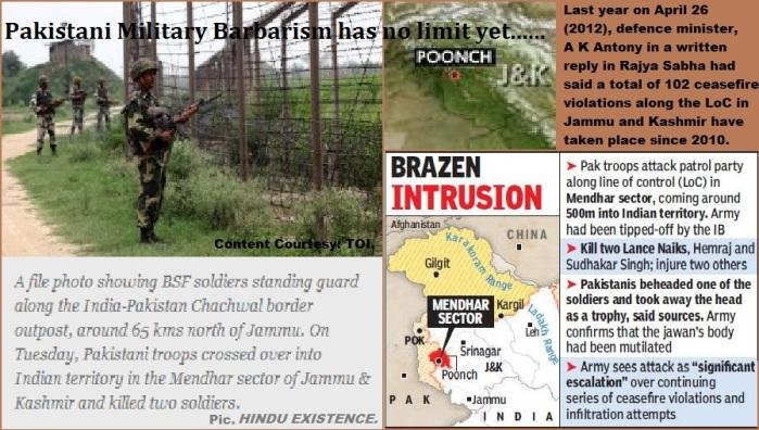 Pak Military Barbarism