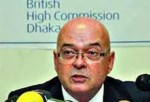 Mr. Robert Gibson, British High Commissioner in Dhaka.