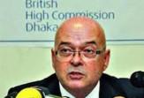 Mr. Robert Gibson, British High Commissioner in Dhaka.
