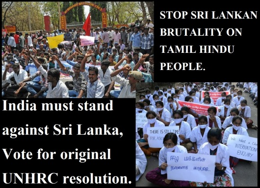 Restore the Rights of Tamil Hindus in Sri Lanka