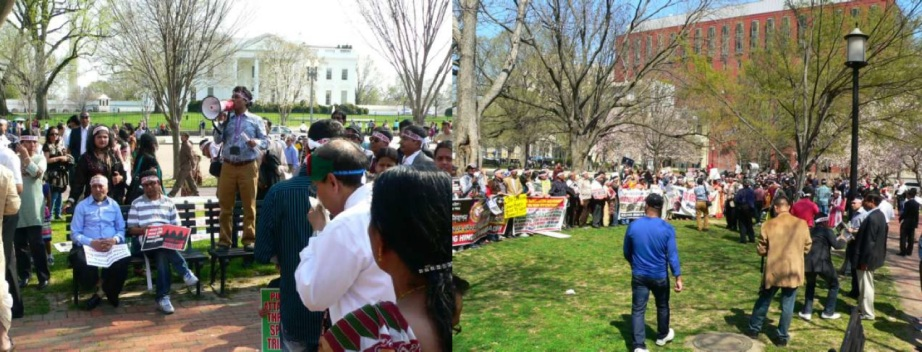 BD HINDUS RALLY IN WHITE HOUSE