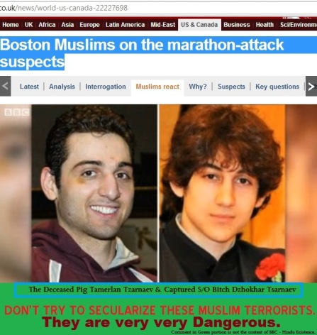 Boston Muslim Terrorist a Suspect in 2011 Triple Murder.