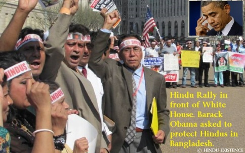 Hindu Rally in front of White House