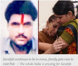 India Prying for Sarabjit
