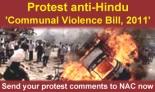 Protest Communal Violence Bill