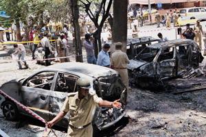 Blast in Bangalore