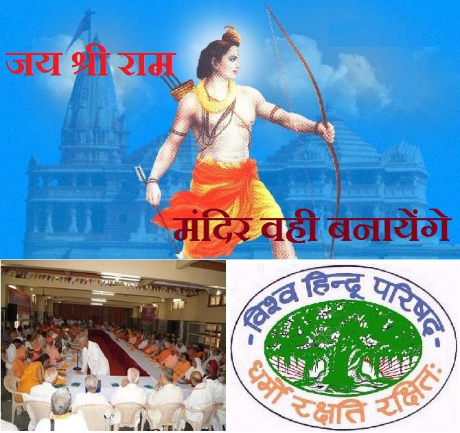 Senior Hindu Saints And Vhp