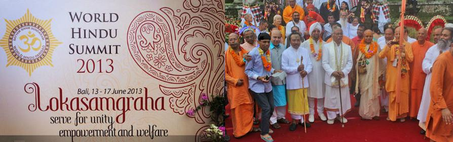 World Hindu Summit 2013 Bali Indonesia