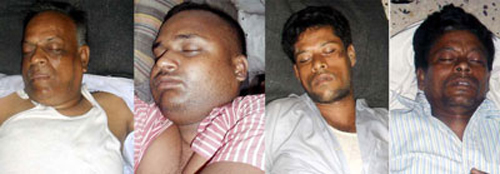 Air poisoned victims by suspected Muslim goons.