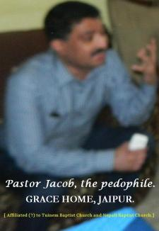 Pastor Jacob, Grace Home Jaipur.