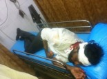 RSS Karyakarta Anjaneyalu deeply injured