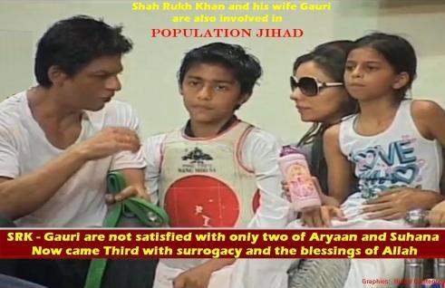 SRK_GAURI Population Jihad
