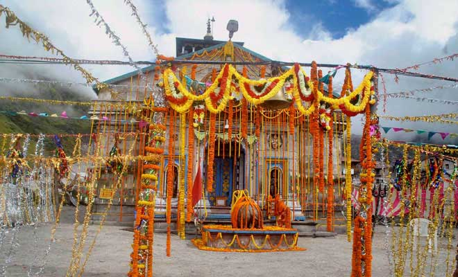prayers resume  kedarnath temple reopens after 86 days
