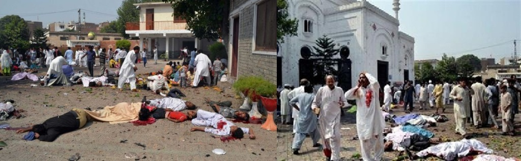 Peshawar Church attack. The Sign of Islamic Peace is too dangerous.