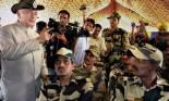 Union Home Minister Sushilkumar Shinde said India will befitting reply to Pakistan. (PTI)