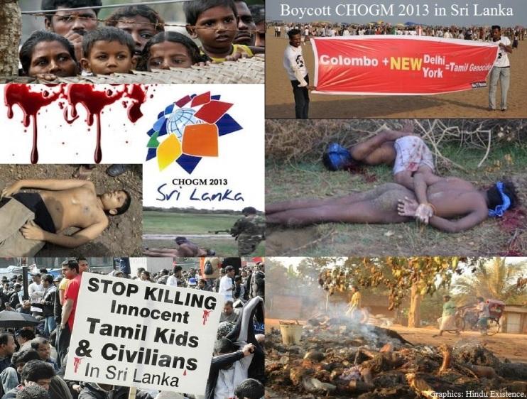 Sri Lanka Genocide.