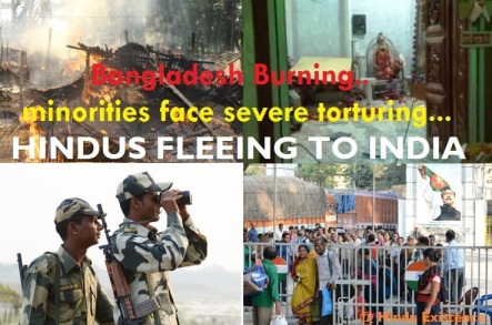 BD Hindus fleeing to India