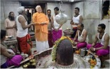 Kashi Vishwanath's blessings on Narendta Modi.