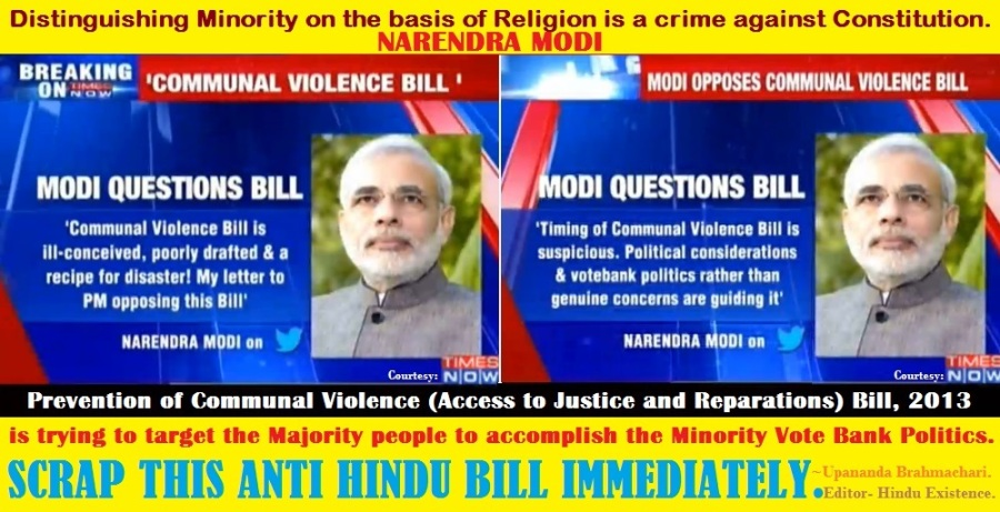 Scrap Communal Violence Bill