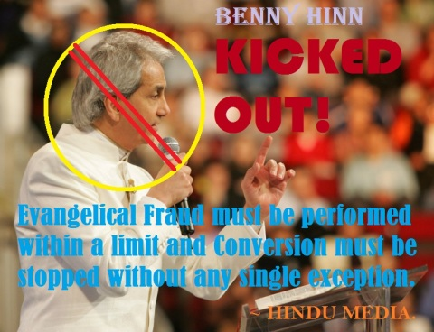 Benny Hinn Kicked out from Bangaluru Prog