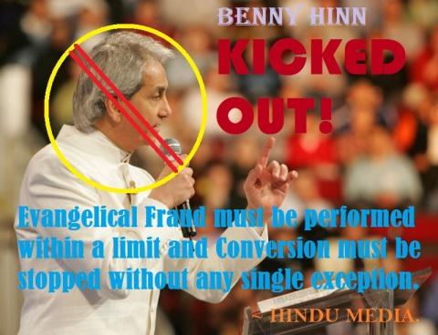 Benny Hinn Kicked out from Bangaluru Prog