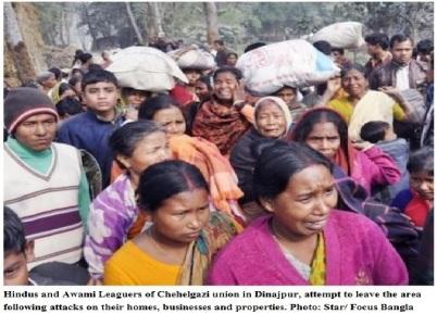 Terror on Hindus in BD III