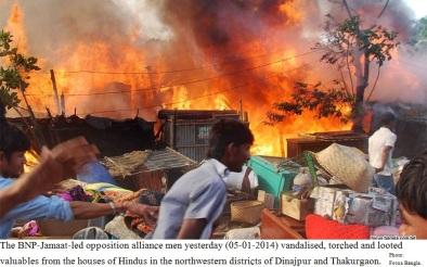 Terror on Hindus in BD VIII