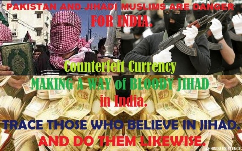 Counterfeit Currency Jihad in India.