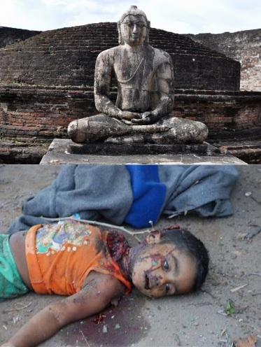 Sri Lankan genocide against Tamil-Hindus. Barbaric.