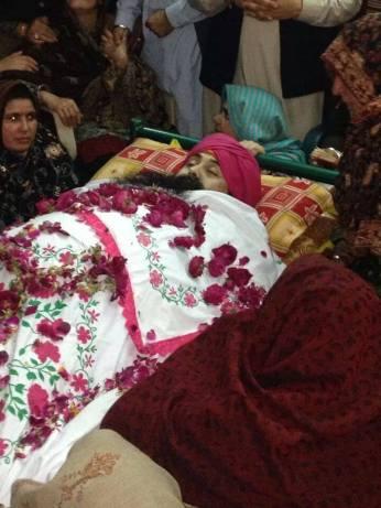 Sardar Paramjeet singh (Shaheed)  was gunned down at Peshawar Pakistan  on thursday