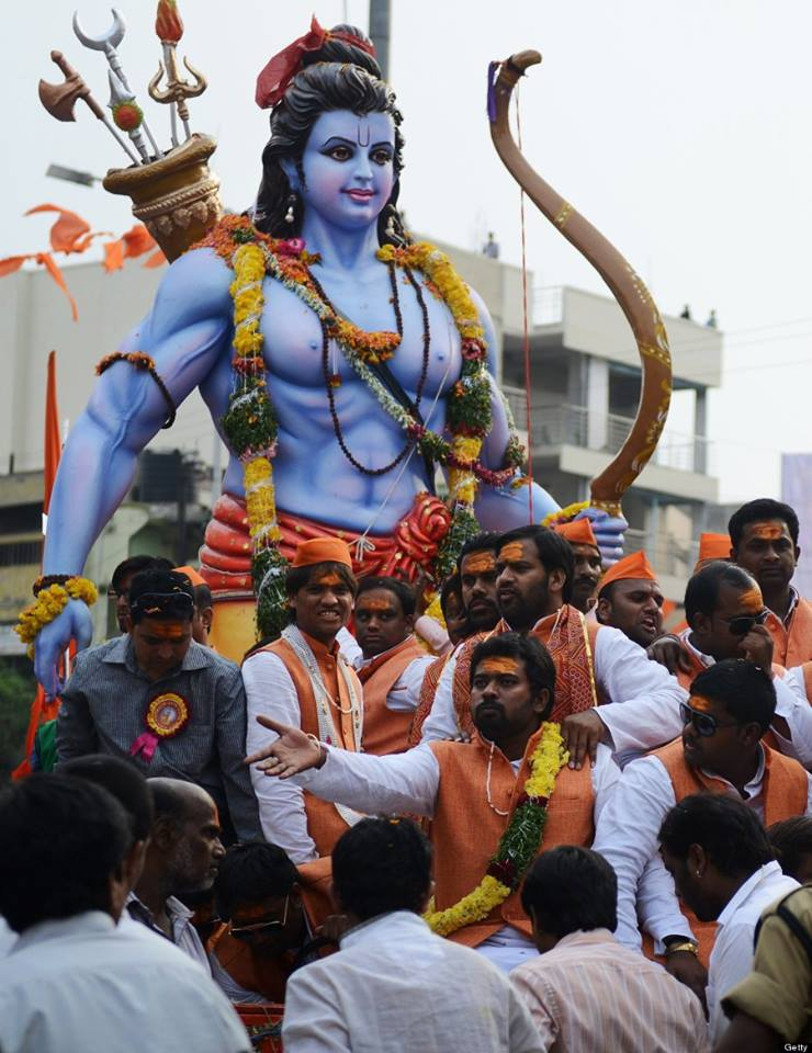 Largest Ram Navmi And Hanuman Jayanti Procession In Southern India Struggle For Hindu Existence