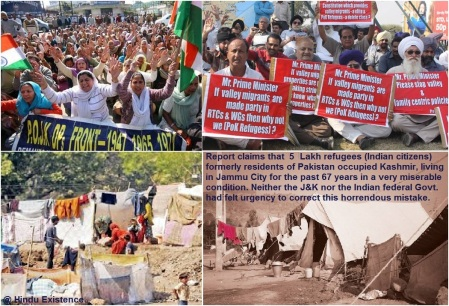 POK Refugee Hindus..