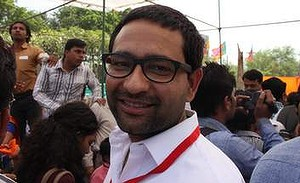 Modi's 'Gujarat miracle' of growth has inspired supporters like Sandeep Mudgal.