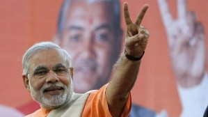 Sensing victory: Narendra Modi is on the cusp of presidential power. Photo: Reuters